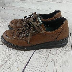 mephisto women's walking shoe leather 10